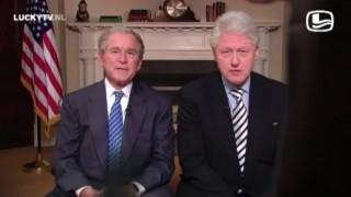 Bush and Clinton for Haiti