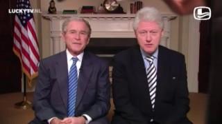 Bush en Clinton voor Haïti