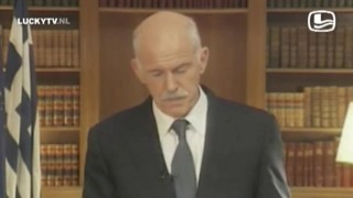 Videoboodschap Papandreou