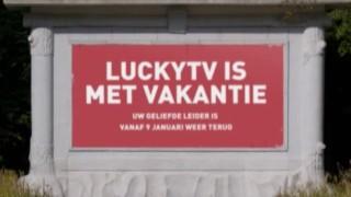 LuckyTV is met vakantie